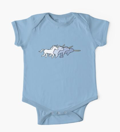 Unicorn Narwhal Evolution One Piece - Short Sleeve
