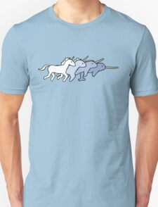 Unicorn Narwhal Evolution T-Shirt