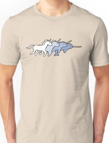 Unicorn Narwhal Evolution Unisex T-Shirt