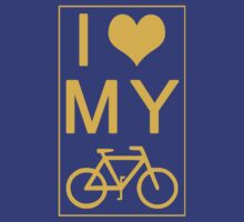 I love my Bike by lrenato