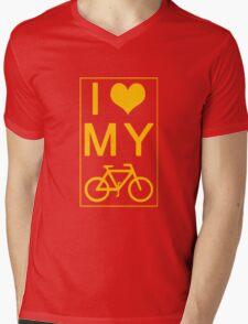 I love my Bike Mens V-Neck T-Shirt