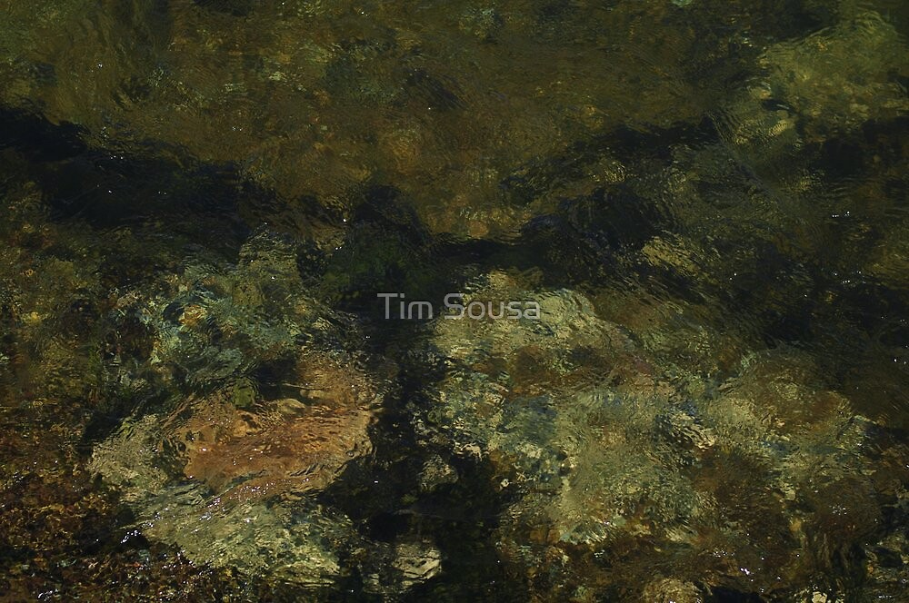 River Rock Abstract 1 by Tim Sousa