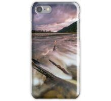 Storm clouds at dusk iPhone Case/Skin