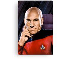 Captain Jean-Luc Picard Canvas Print