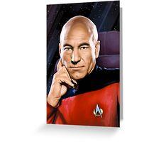 Captain Jean-Luc Picard Greeting Card