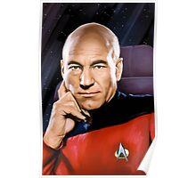 Captain Jean-Luc Picard Poster