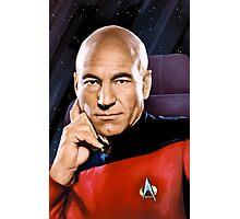 Captain Jean-Luc Picard Photographic Print