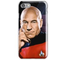 Captain Jean-Luc Picard iPhone Case/Skin