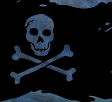Pirate flag 47 by Chandra Nyleen Sticker
