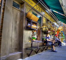 Traditional shop front Spittlafields London HDR by AndyV