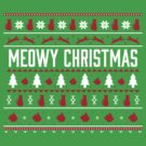MEOWY CHRISTMAS by Sam Kirby