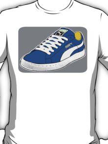 PUMA SE: NAVY BLUE W/ WHITE LACES T-Shirt