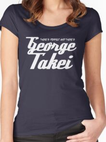 Takei or leave me! Women's Fitted Scoop T-Shirt