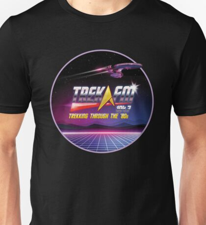 Trek.fm: Trekking Through the '80s! Unisex T-Shirt