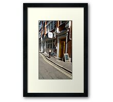A London road view Framed Print