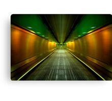 Underground Heathrow Canvas Print