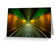 Underground Heathrow Greeting Card