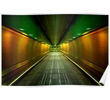 Underground Heathrow Poster