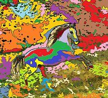 horse Portrait 4 by adriantovnodtov