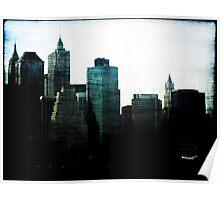 New York Facades Poster