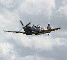 Spitfire Mk9 by John Dunbar