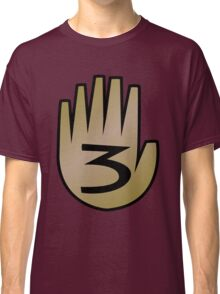 3 Hand Book From Gravity Falls Classic T-Shirt