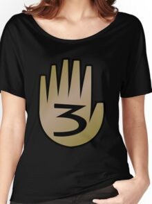3 Hand Book From Gravity Falls Women's Relaxed Fit T-Shirt