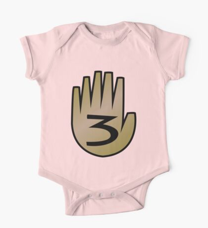 3 Hand Book From Gravity Falls One Piece - Short Sleeve