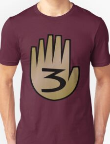 3 Hand Book From Gravity Falls T-Shirt