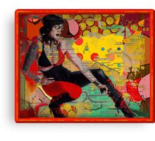 The Scarlet Sniper Canvas Print