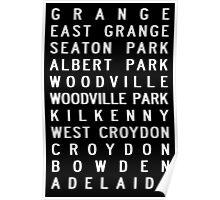 Grange Train Scroll Poster