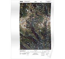 USGS Topo Map Washington State WA Shuksan Arm 20110510 TM Poster
