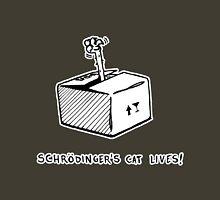 Schrödinger's cat lives! Unisex T-Shirt