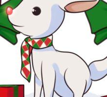 Red-nosed reindeer Sticker