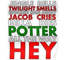 Harry Potter Jingle Bells Poster