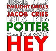 Harry Potter Jingle Bells Photographic Print