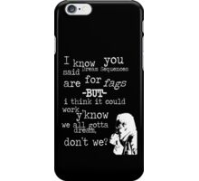 Hans, Seven Psychopaths, White Version iPhone Case/Skin