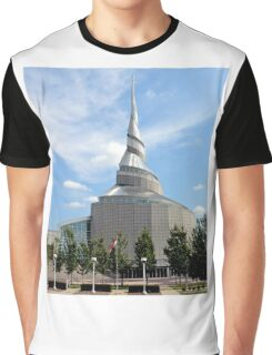 Amazing Architecture - Temple of Community of Christ Graphic T-Shirt