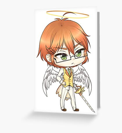 Chibi William Greeting Card