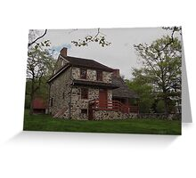 Layfayette's Headquarters at Brandywine Greeting Card