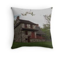 Layfayette's Headquarters at Brandywine Throw Pillow