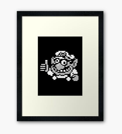 Wario Approval Framed Print