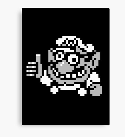Wario Approval Canvas Print