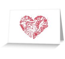 Butterfly Heart Greeting Card