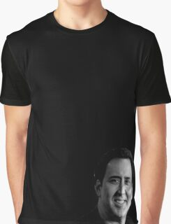 Nicolas Cage Graphic T-Shirt