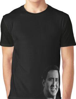Nicolas Cage Graphic T-Shirt