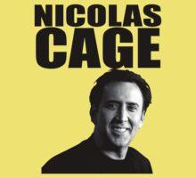 Nicolas Cage Baby Tee