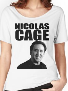 Nicolas Cage Women's Relaxed Fit T-Shirt