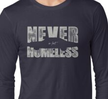 They never had a roof and four walls - light Long Sleeve T-Shirt