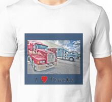 I Love Trucks-2 Unisex T-Shirt